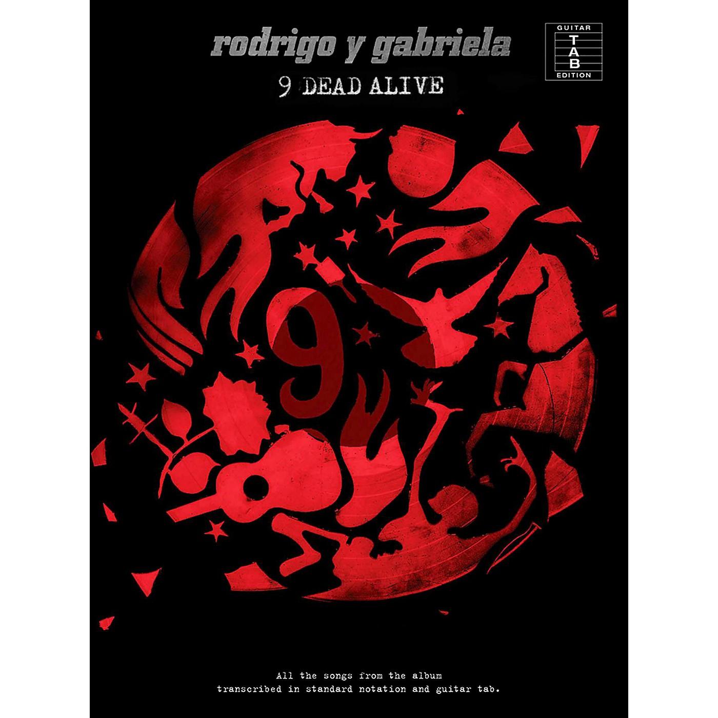 Music Sales Rodrigo y Gabriela - 9 Dead Alive Guitar Tab Songbook thumbnail