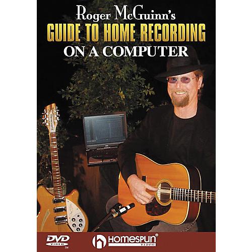 Homespun Roger McGuinn's Guide to Home Recording on a Computer (DVD) thumbnail