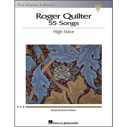 Hal Leonard Roger Quilter - 55 Songs for High Voice (The Vocal Library Series)-thumbnail