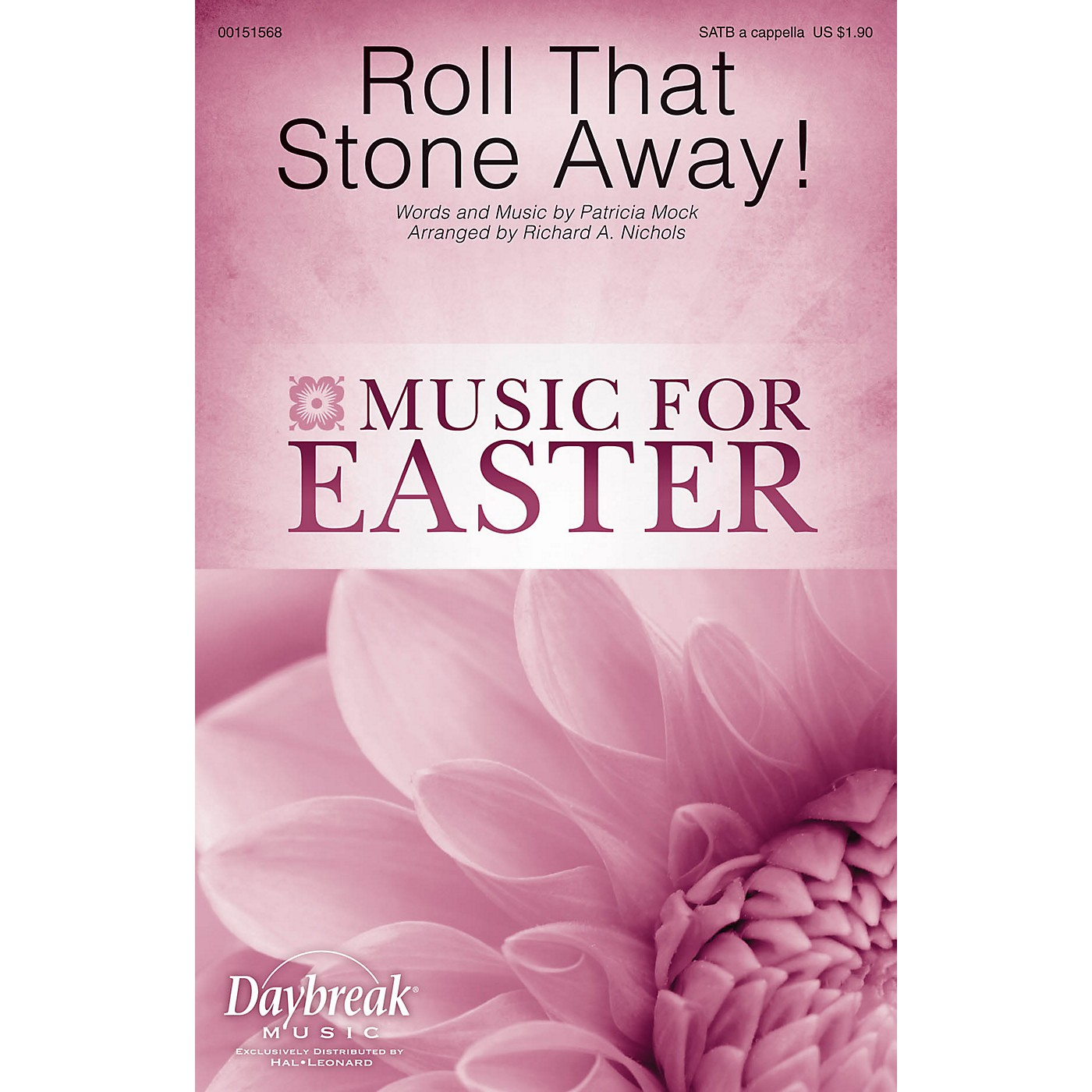 Daybreak Music Roll That Stone Away! SATB a cappella arranged by Richard Nichols thumbnail