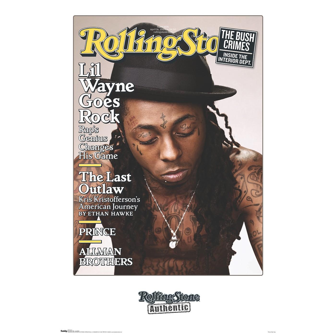 Trends International Rolling Stone - Lil Wayne Poster thumbnail