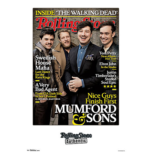 Trends International Rolling Stone - Mumford And Sons Poster thumbnail