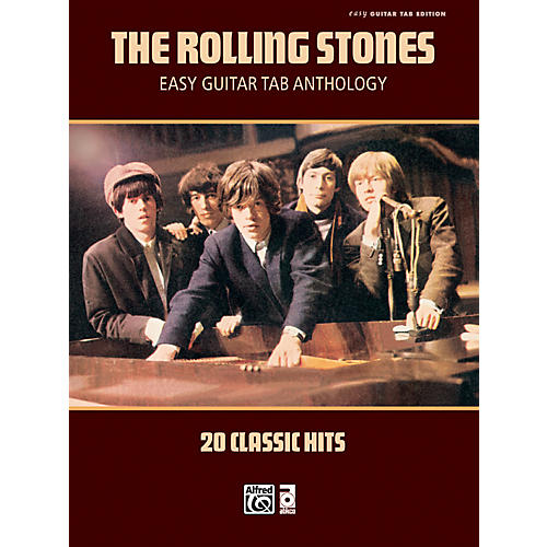 Alfred Rolling Stones - Easy Guitar Tab Anthology - Book thumbnail