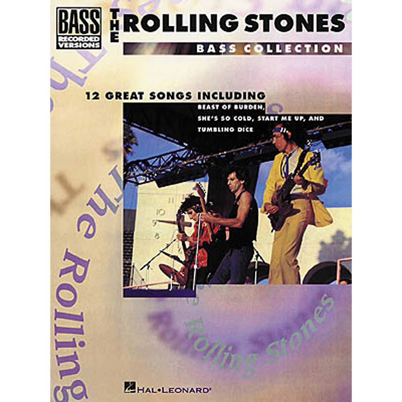 Hal Leonard Rolling Stones Bass Collection Bass Guitar Tab Songbook thumbnail