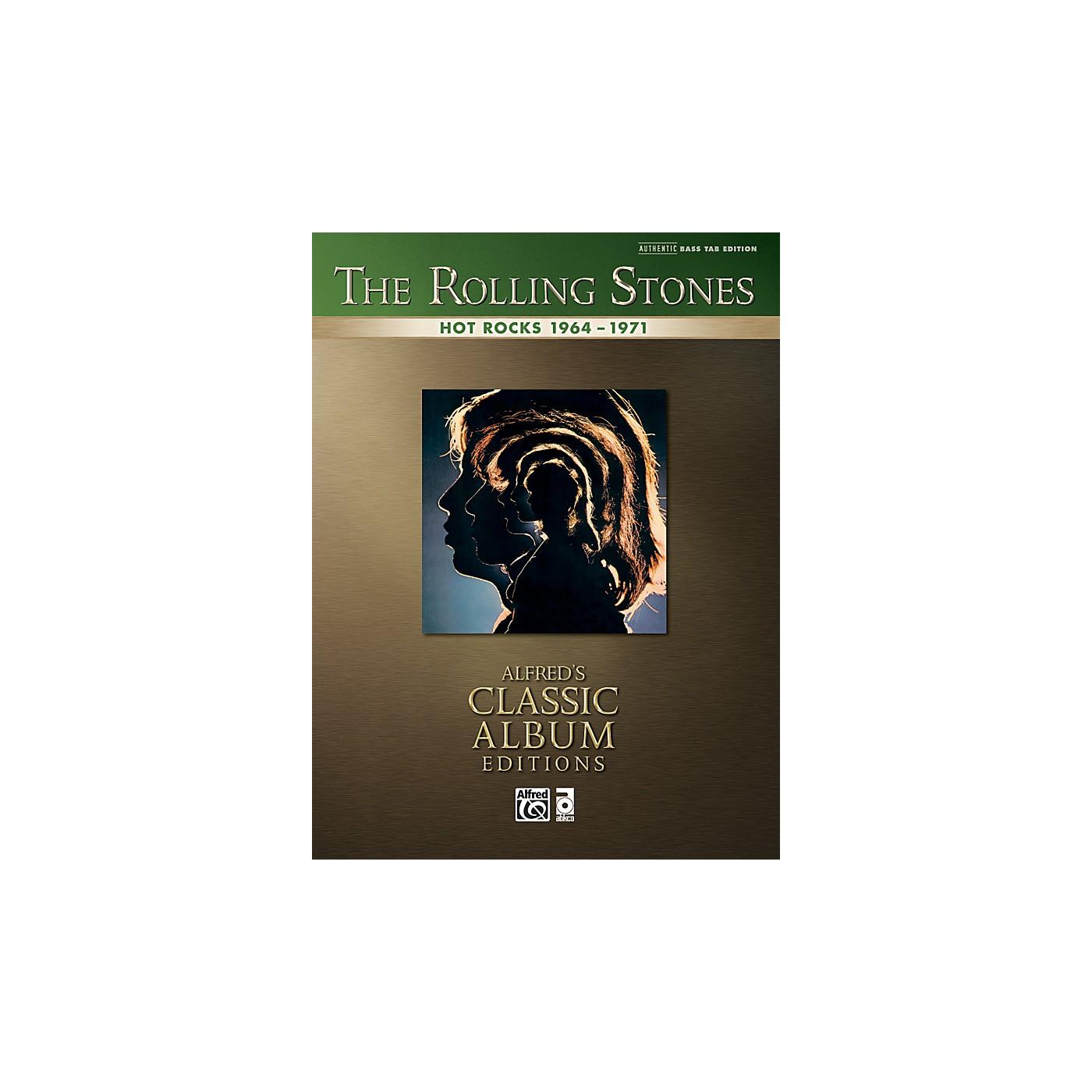 Alfred Rolling Stones Hot Rocks - Bass Tab Book thumbnail