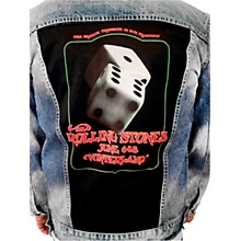 Dragonfly Clothing Rolling Stones at Wonderland - Lucky Dice - Womens Denim Jacket