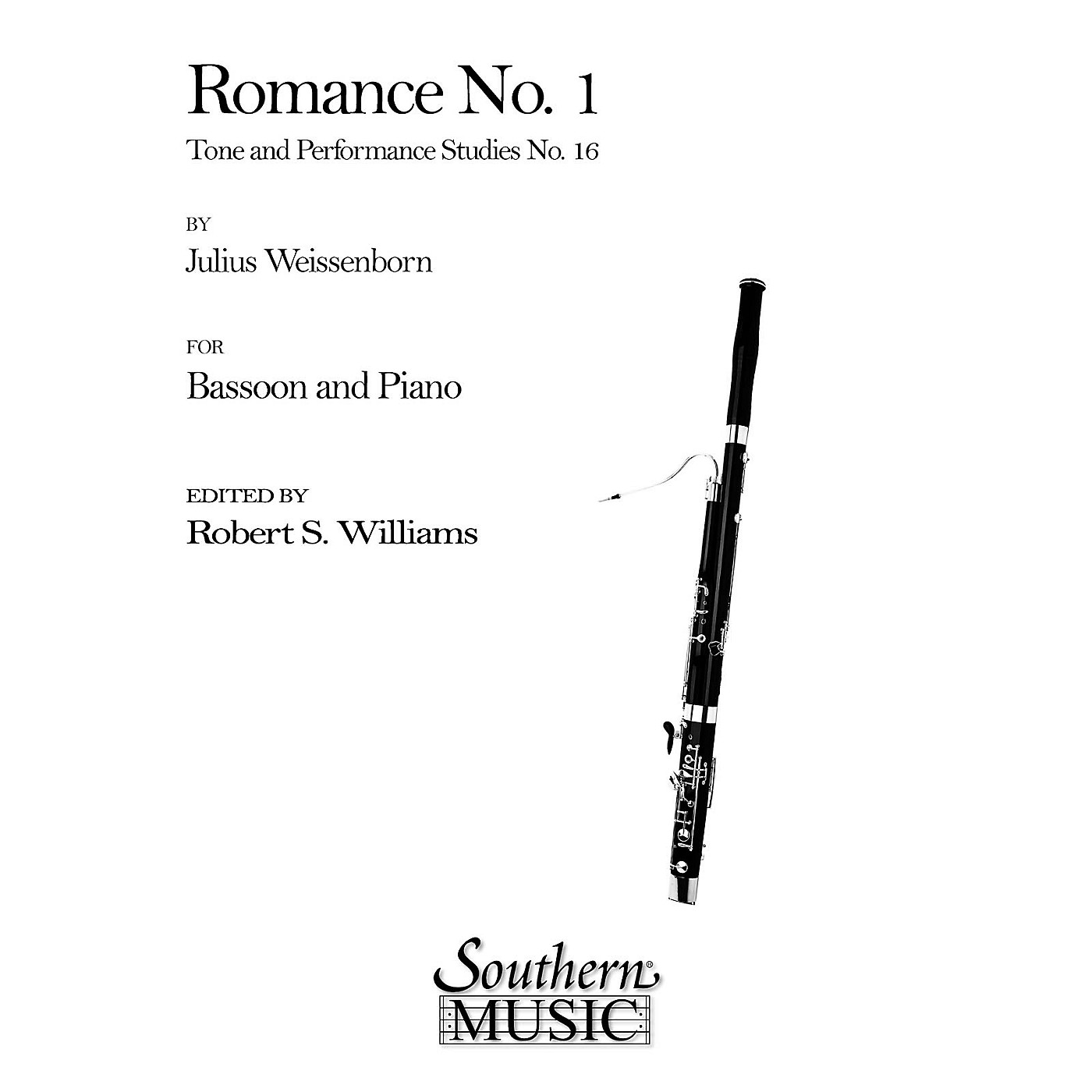 Southern Romance No 1 (Bassoon) Southern Music Series Arranged by Robert Williams thumbnail