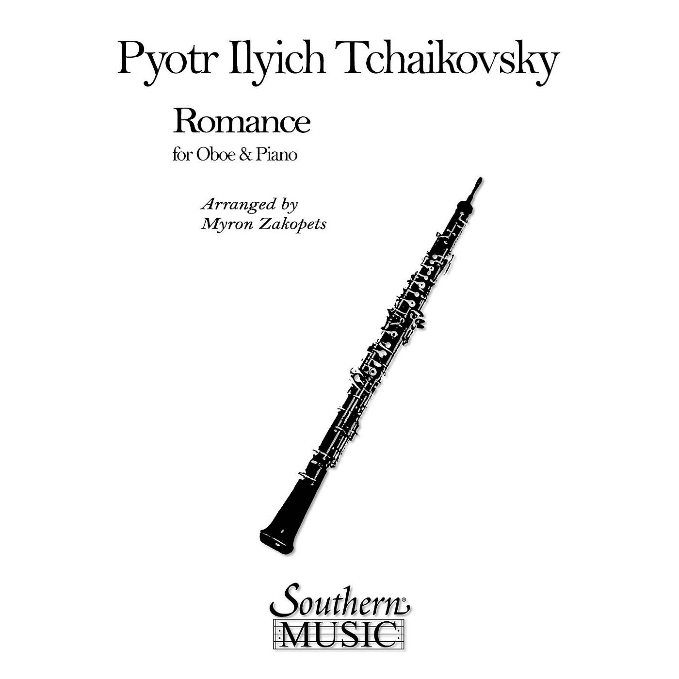 Southern Romance (Oboe) Southern Music Series Arranged by Myron Zakopets thumbnail