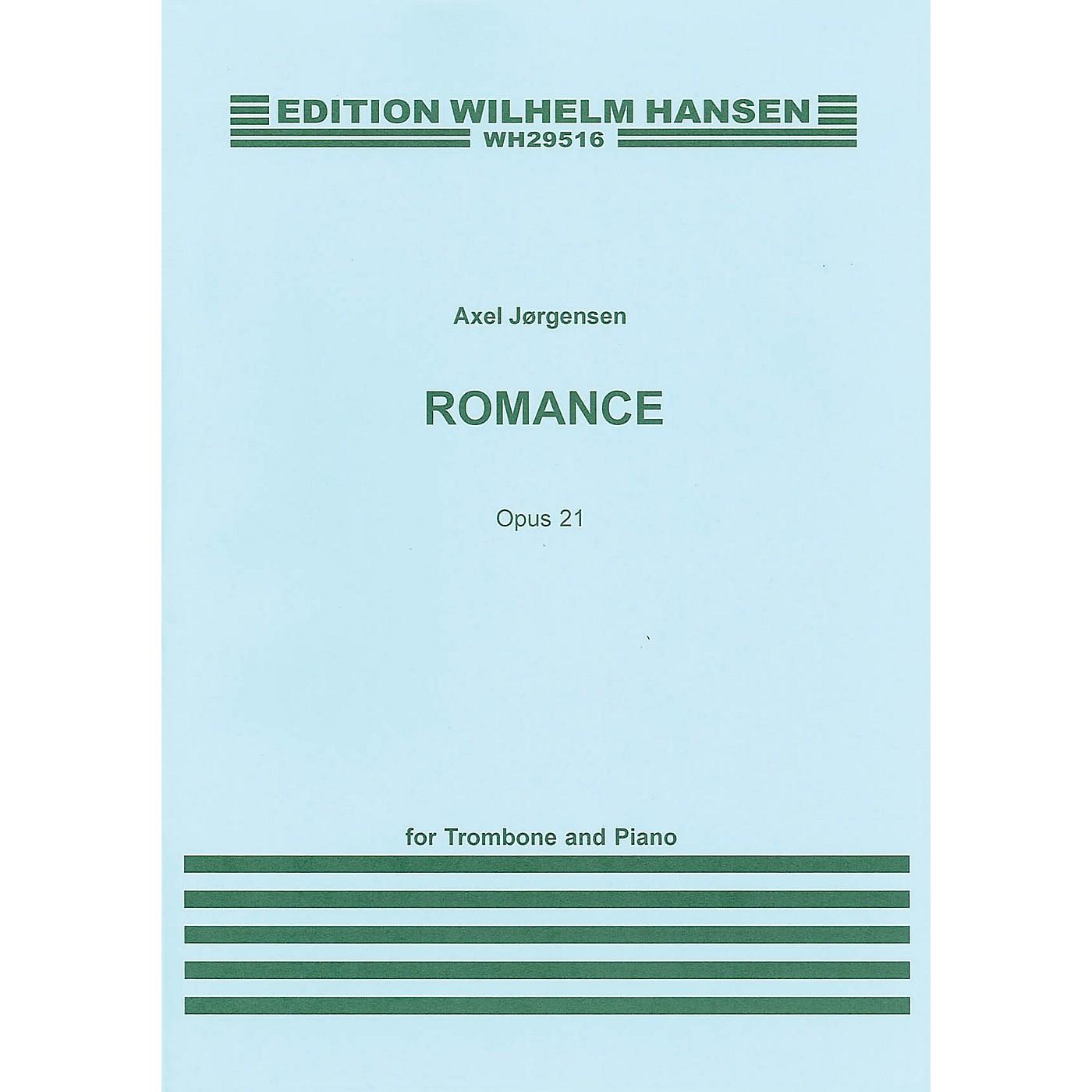 Wilhelm Hansen Romance Op. 21 (for Trombone and Piano) Music Sales America Series thumbnail