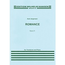 Wilhelm Hansen Romance Op. 21 (for Trombone and Piano) Music Sales America Series