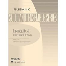 Rubank Publications Romance, Op. 41 (Flute Solo with Piano - Grade 4) Rubank Solo/Ensemble Sheet Series