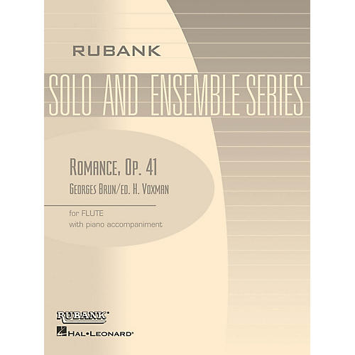 Rubank Publications Romance, Op. 41 (Flute Solo with Piano - Grade 4) Rubank Solo/Ensemble Sheet Series thumbnail