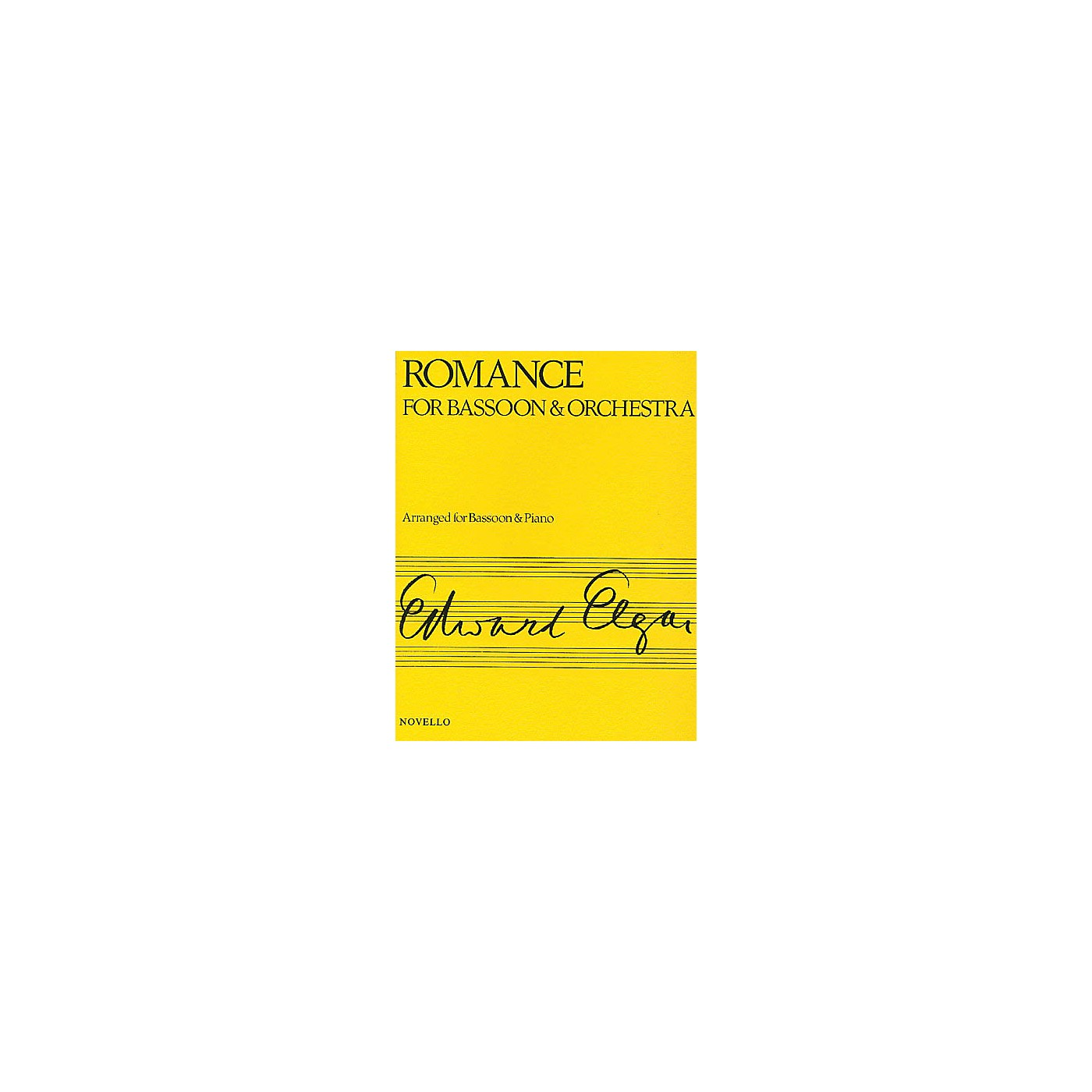 Novello Romance for Bassoon and Orchestra (Arranged for Bassoon and Piano) Music Sales America Series thumbnail