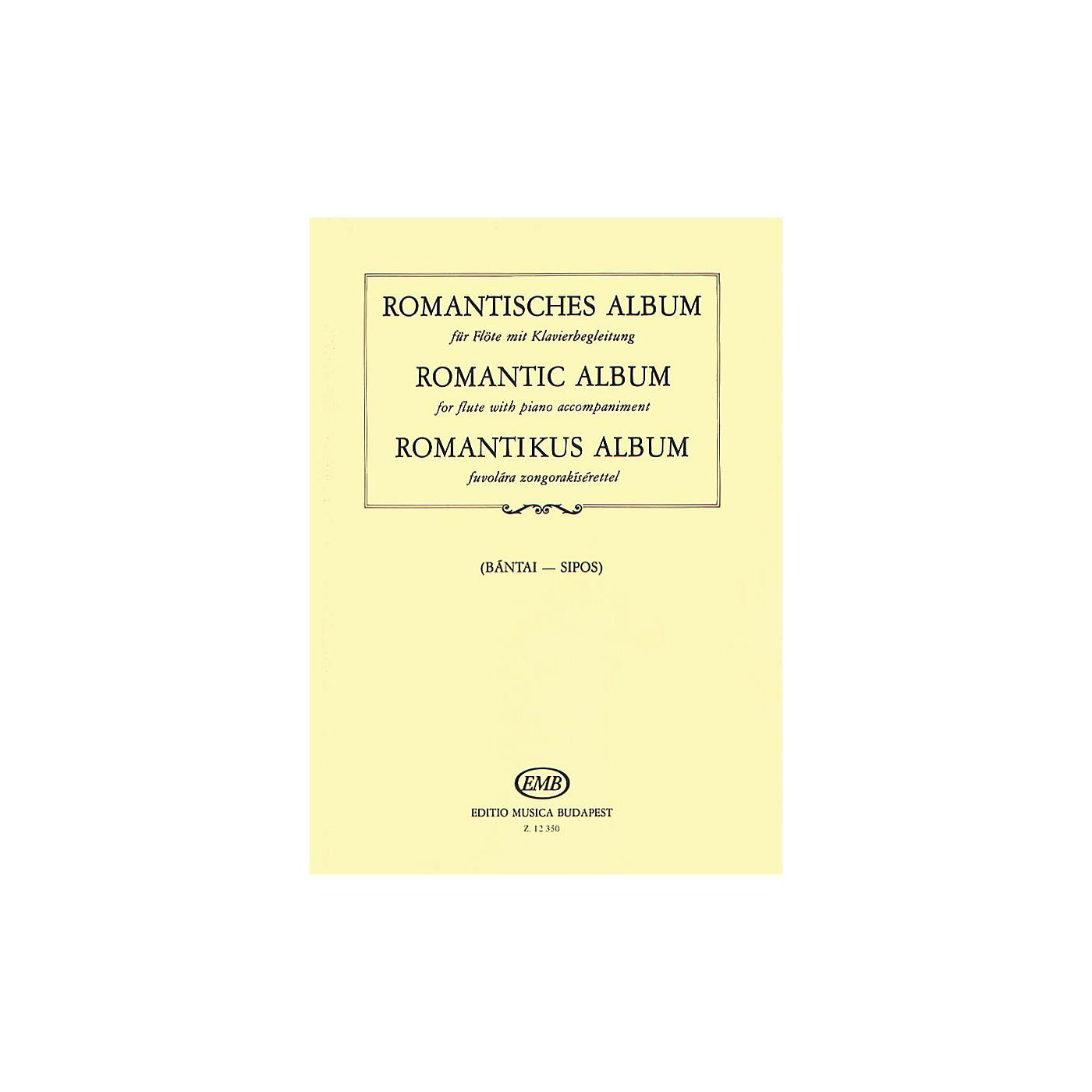 Editio Musica Budapest Romantic Album for Flute and Piano EMB Series thumbnail