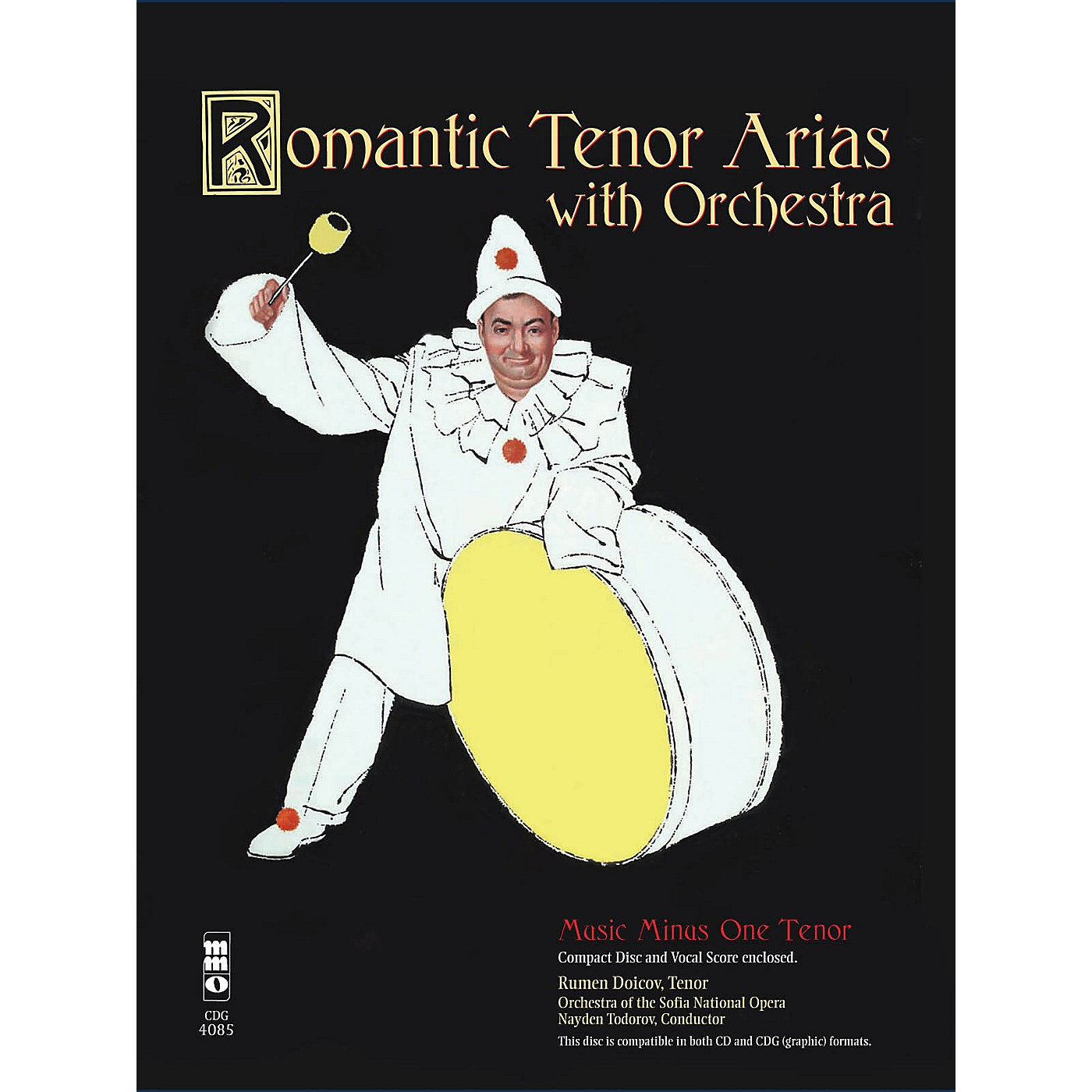 Music Minus One Romantic Arias for Tenor & Orchestra Music Minus One Series Softcover with CD  by Various thumbnail