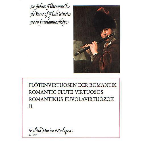 Editio Musica Budapest Romantic Flute Virtuosos - Volume 2 EMB Series thumbnail