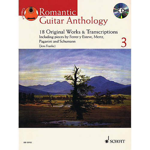 Schott Romantic Guitar Anthology - Volume 3 (18 Original Works & Transcriptions) Guitar Series Softcover with CD thumbnail