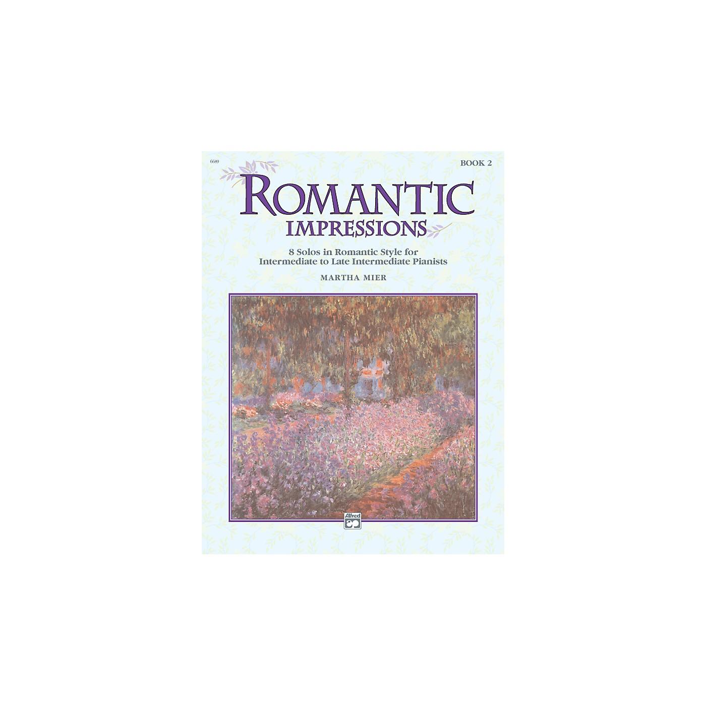 Alfred Romantic Impressions Book 2 thumbnail
