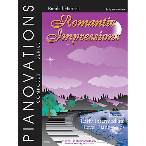 Willis Music Romantic Impressions Willis Series by Randall Hartsell (Level Early Inter) thumbnail