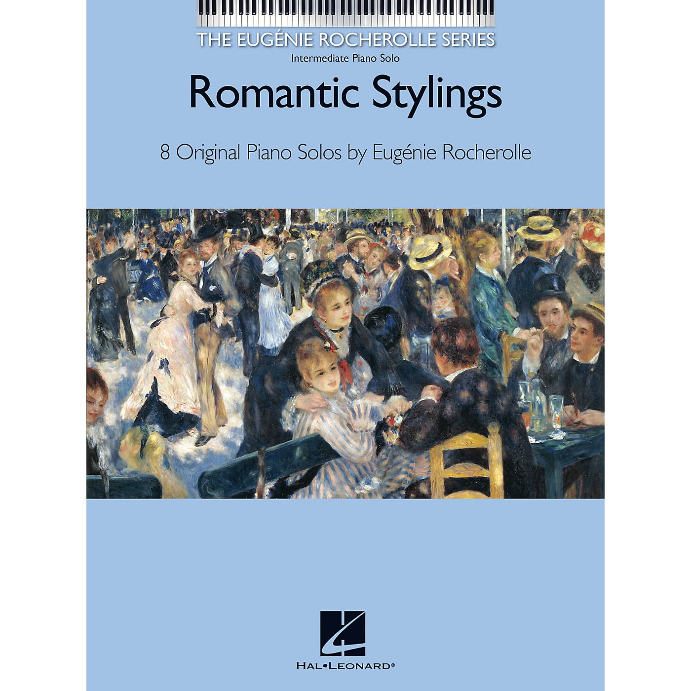 Hal Leonard Romantic Stylings - 8 Original Piano Solos by Eugénie Rocherolle thumbnail