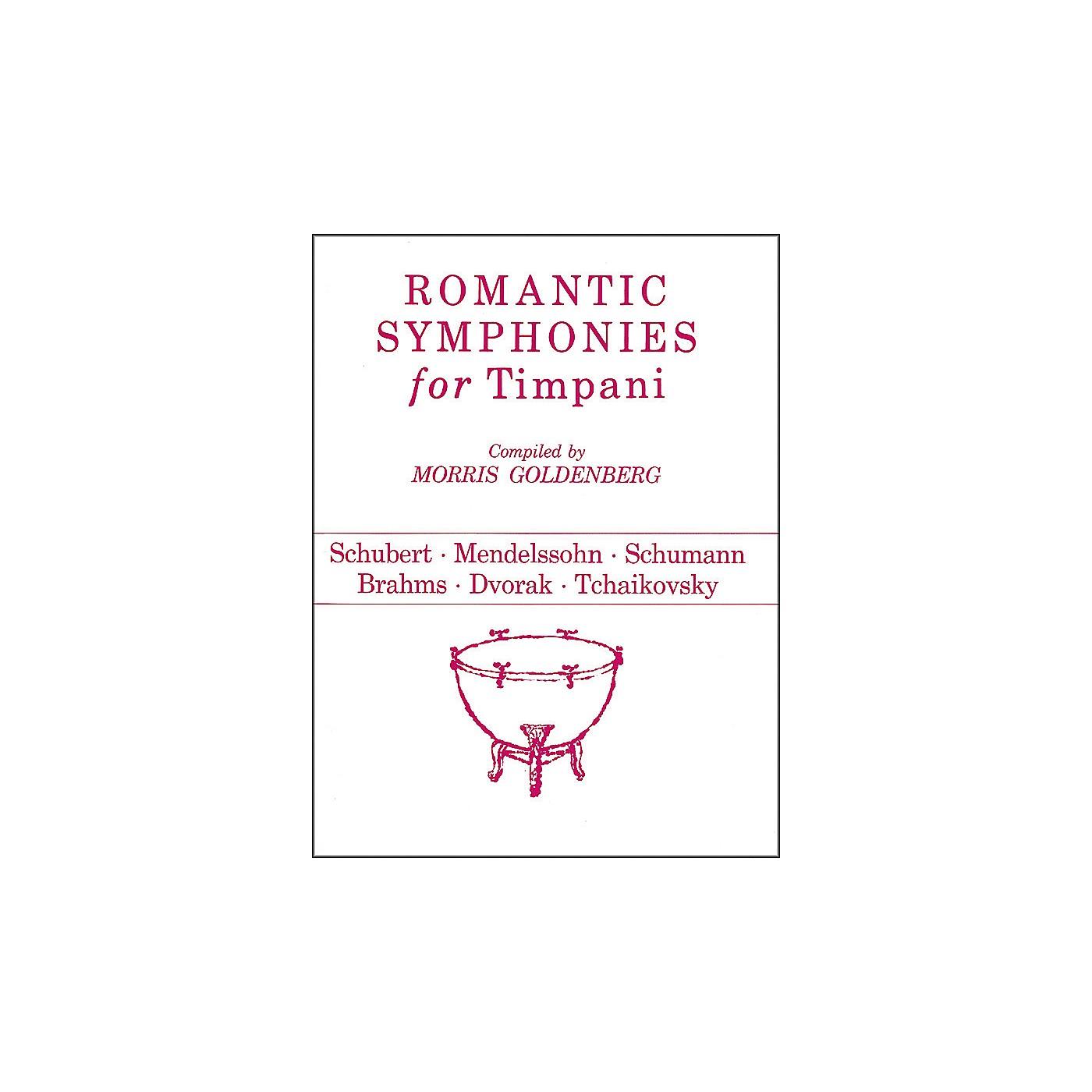 Hal Leonard Romantic Symphonies for Timpani thumbnail