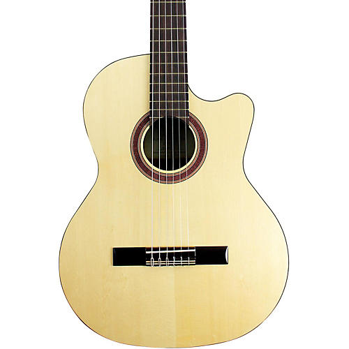 Kremona Rondo Cutaway Acoustic-Electric Classical Guitar with Hardshell Case thumbnail