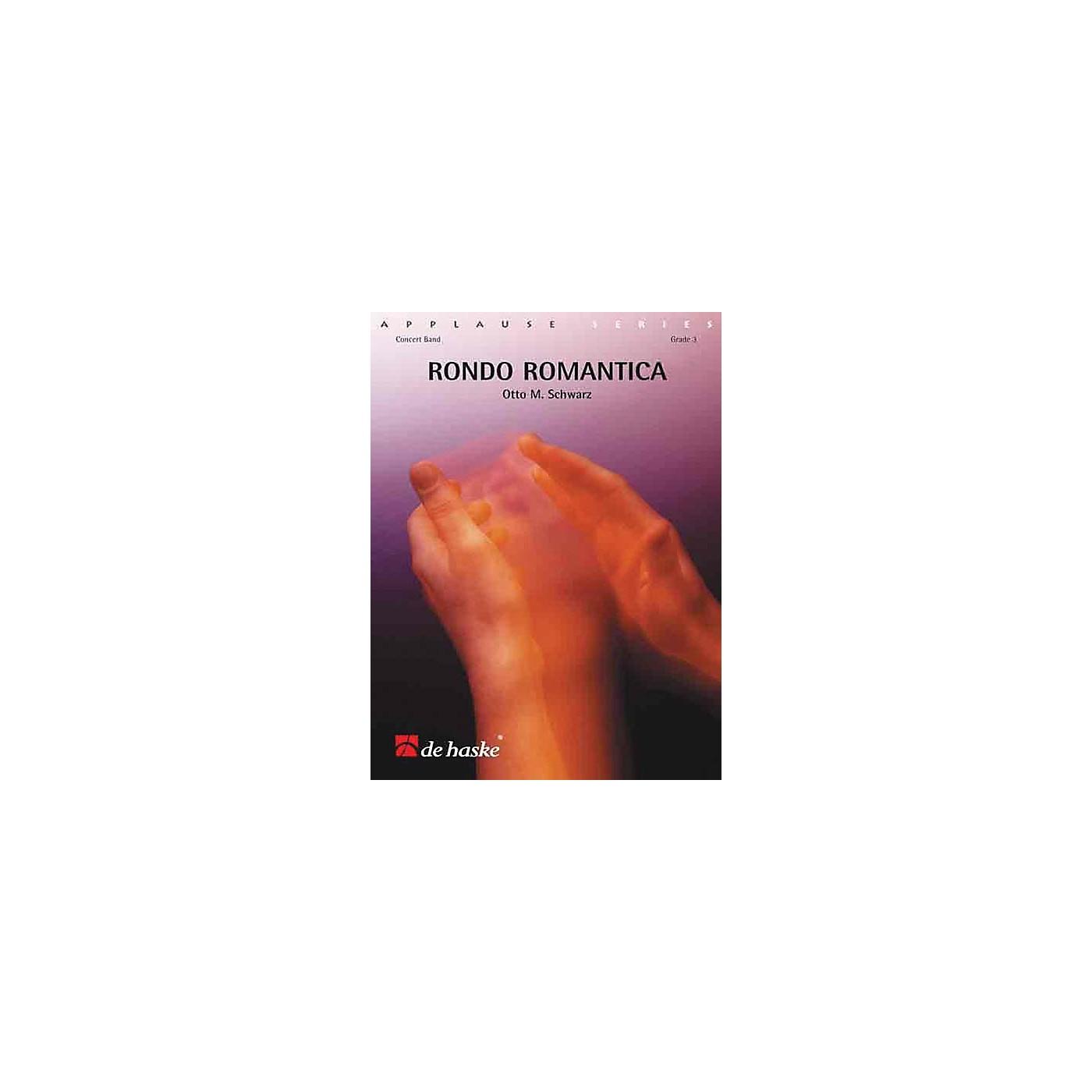 Hal Leonard Rondo Romantica Score Only Concert Band thumbnail