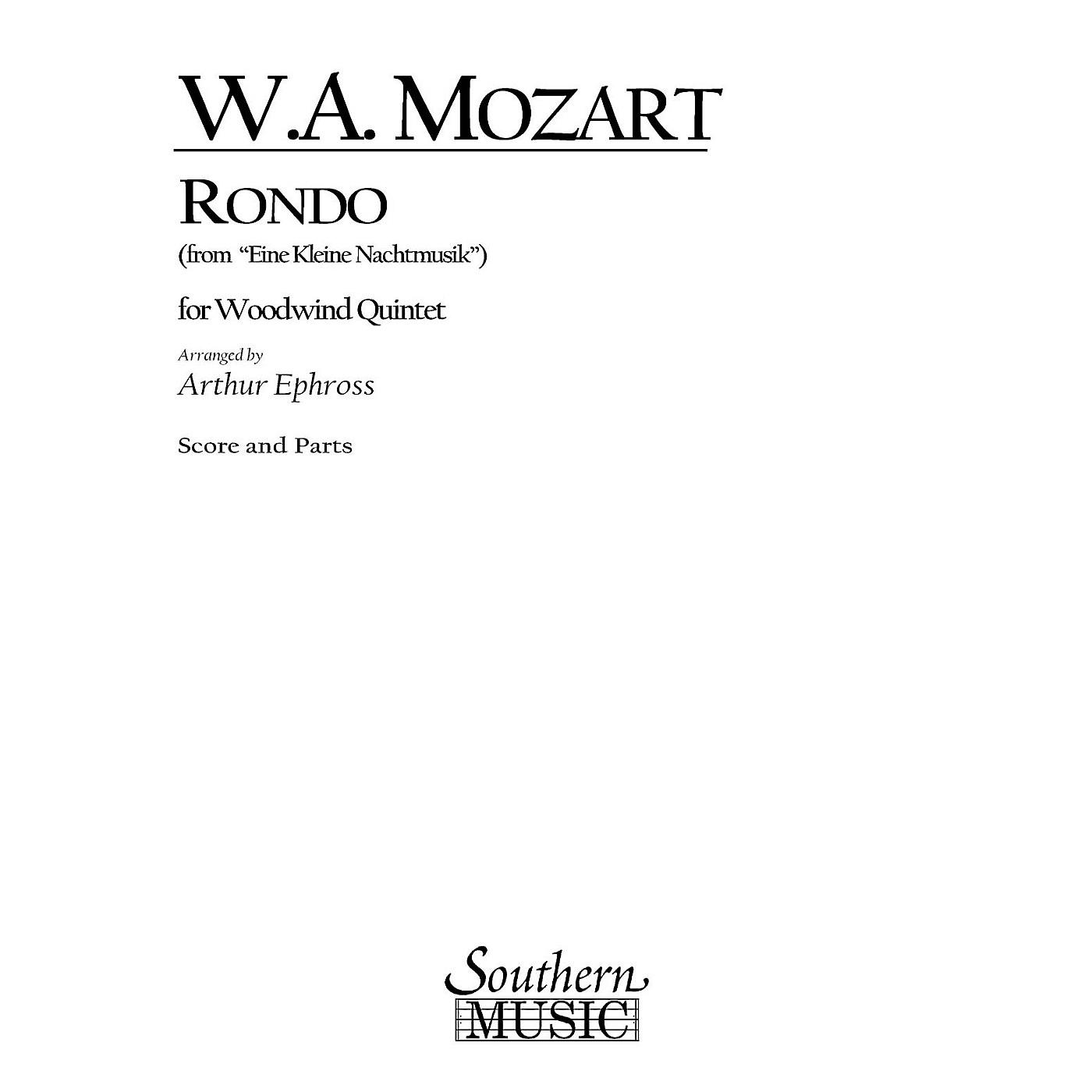 Southern Rondo (from Eine Kleine Nachtmusik) (Woodwind Quintet) Southern Music Series Arranged by Arthur Ephross thumbnail