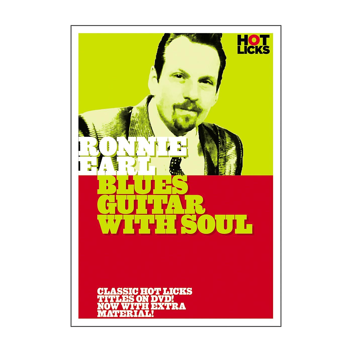 Hot Licks Ronnie Earl: Blues Guitar with Soul DVD thumbnail