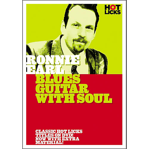 Hot Licks Ronnie Earl: Blues Guitar with Soul DVD thumbnail