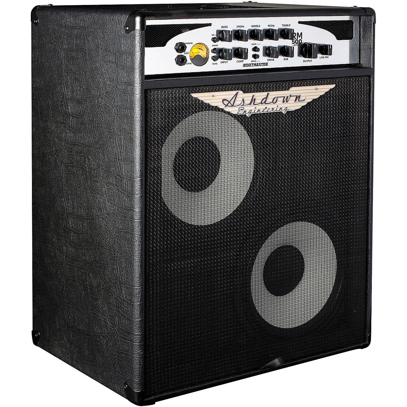 Ashdown Rootmaster C210-500-T EVO II 500W 2x10 Bass Combo Amp thumbnail