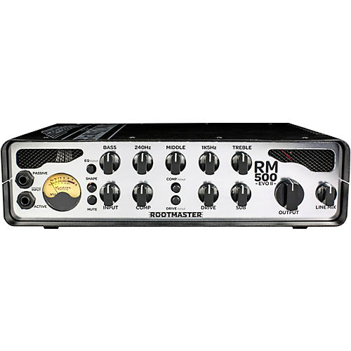 Ashdown Rootmaster RM-500 EVO II 500W Bass Amp Head thumbnail