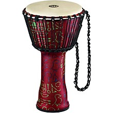 Meinl Rope Tuned Djembe with Synthetic Shell and Goat Skin Head