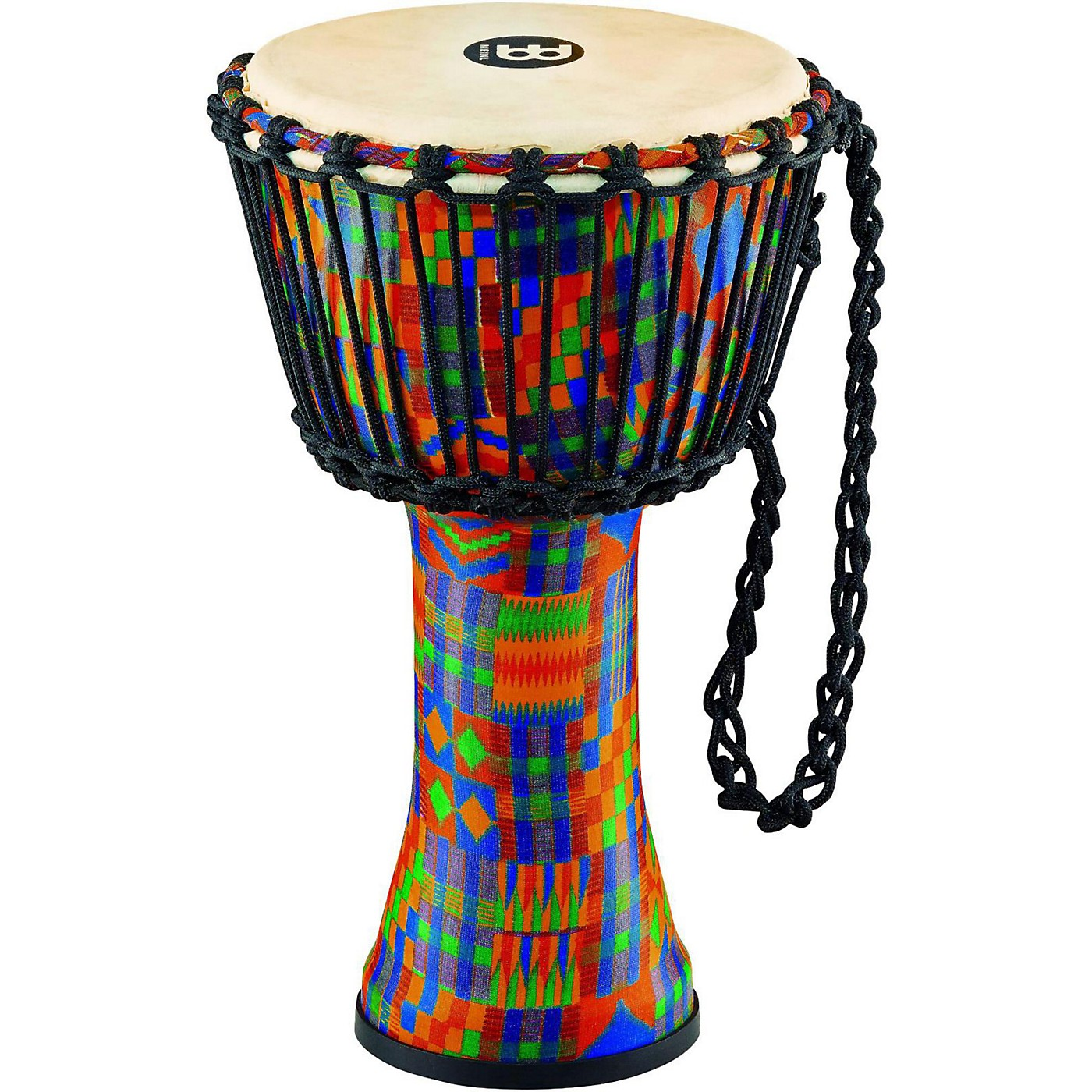 Meinl Rope Tuned Djembe with Synthetic Shell and Goat Skin Head thumbnail