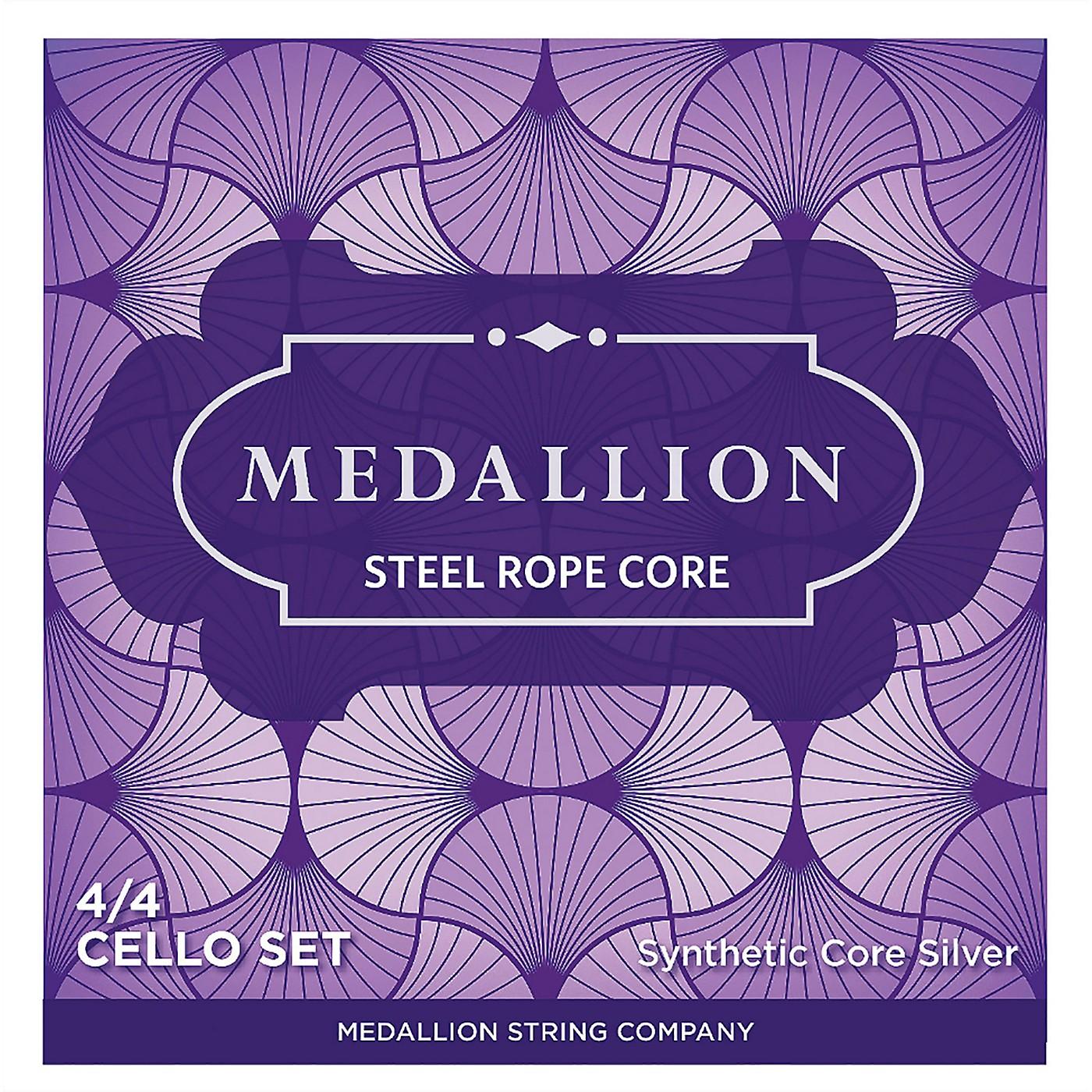 Medallion Strings Ropecore Steel Cello String Set thumbnail