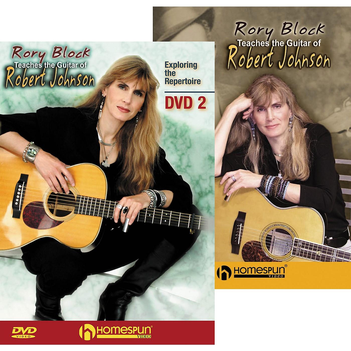 Homespun Rory Block Teaches the Guitar of Robert Johnson (2-DVD Set) thumbnail
