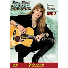 Homespun Rory Block Teaches the Guitar of Robert Johnson Instructional/Guitar/DVD Series DVD Written by Rory Block