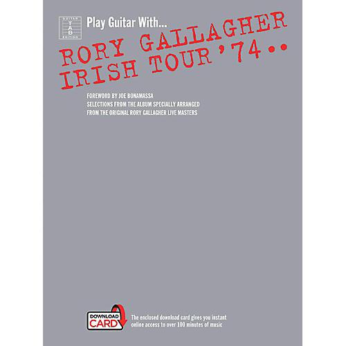 Music Sales Rory Gallagher - Irish Tour '74 Book/Online Audio thumbnail