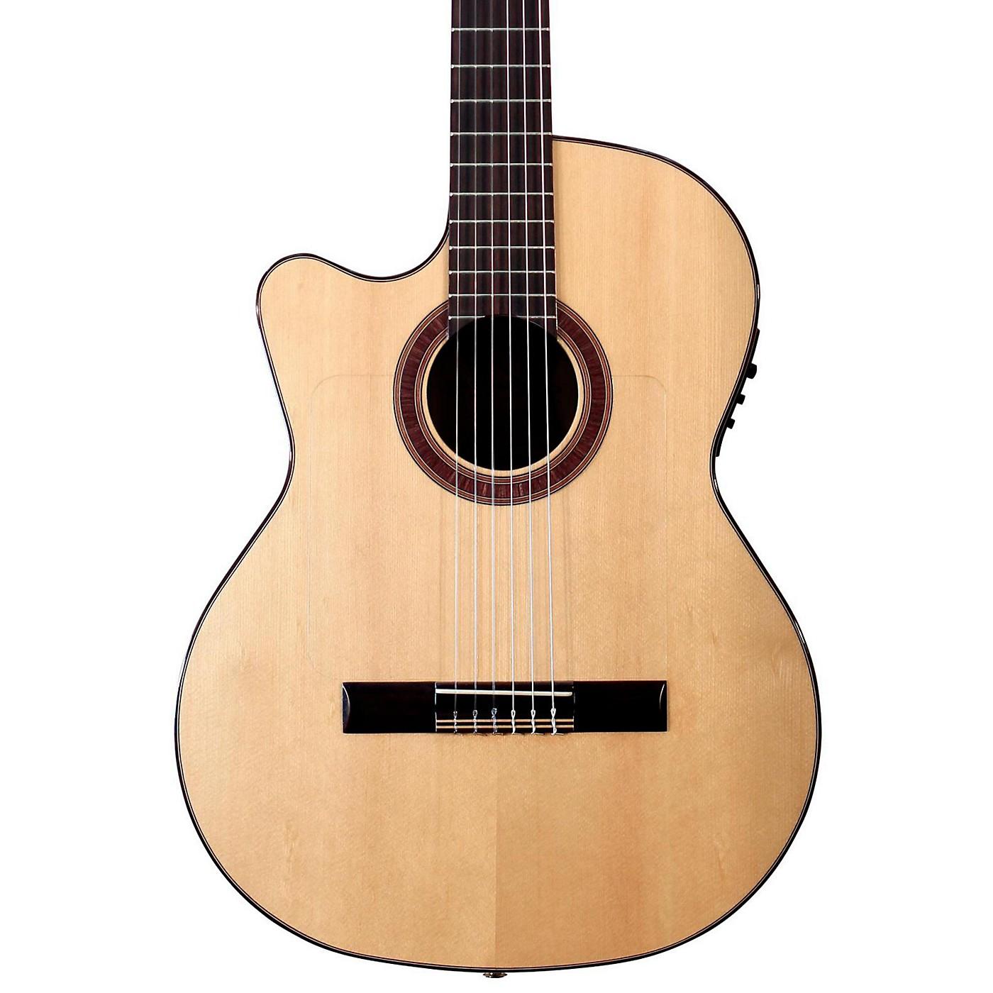 Kremona Rosa Luna Left-Handed Flamenco Blanca Guitar thumbnail
