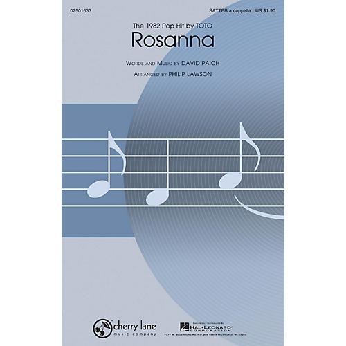 Cherry Lane Rosanna SATTBB A Cappella by Toto arranged by Philip Lawson thumbnail