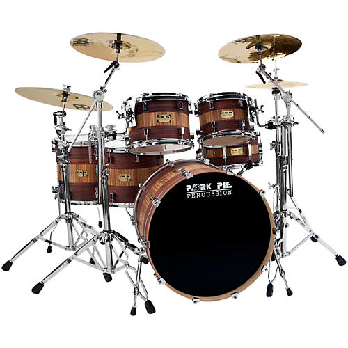 Pork Pie Rosewood Zebra Maple 5-Piece Shell Pack thumbnail