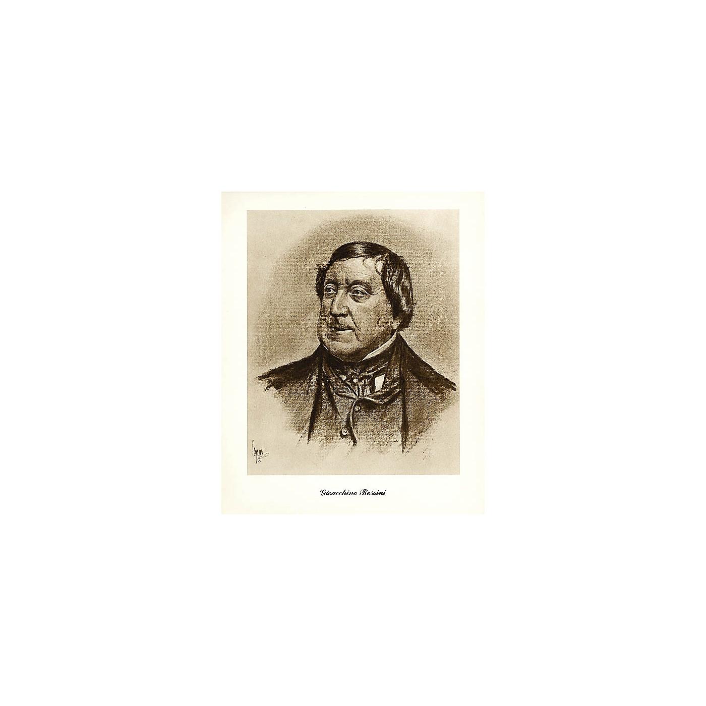 Music Sales Rossini (Lupas Large Portrait Poster) Music Sales America Series thumbnail