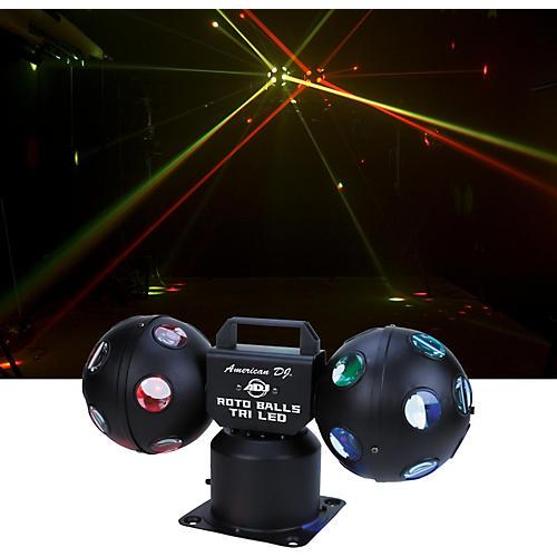 American DJ Rotoballs Tri LED Light Effect thumbnail