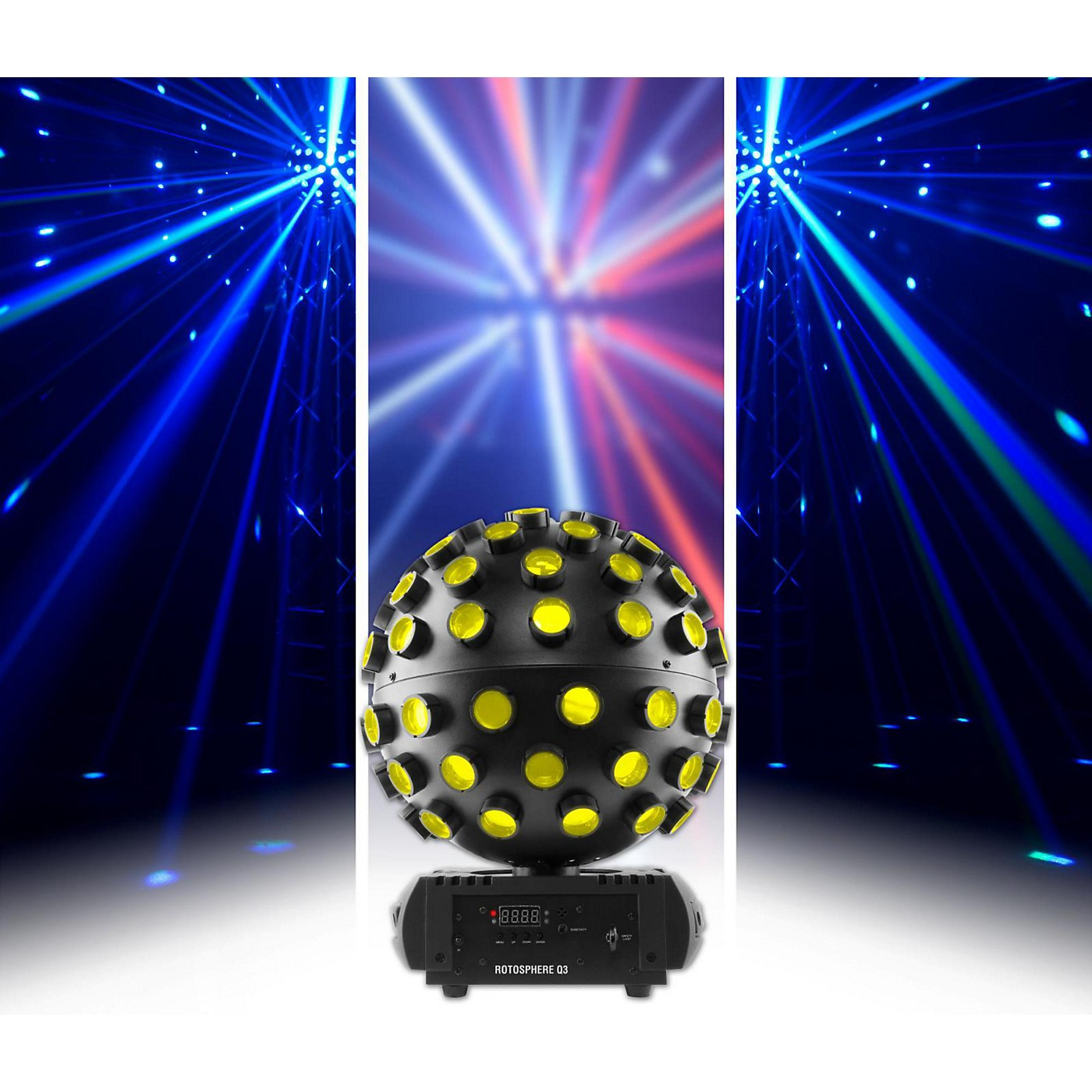 CHAUVET DJ Rotosphere Q3 Disco Effect Light thumbnail
