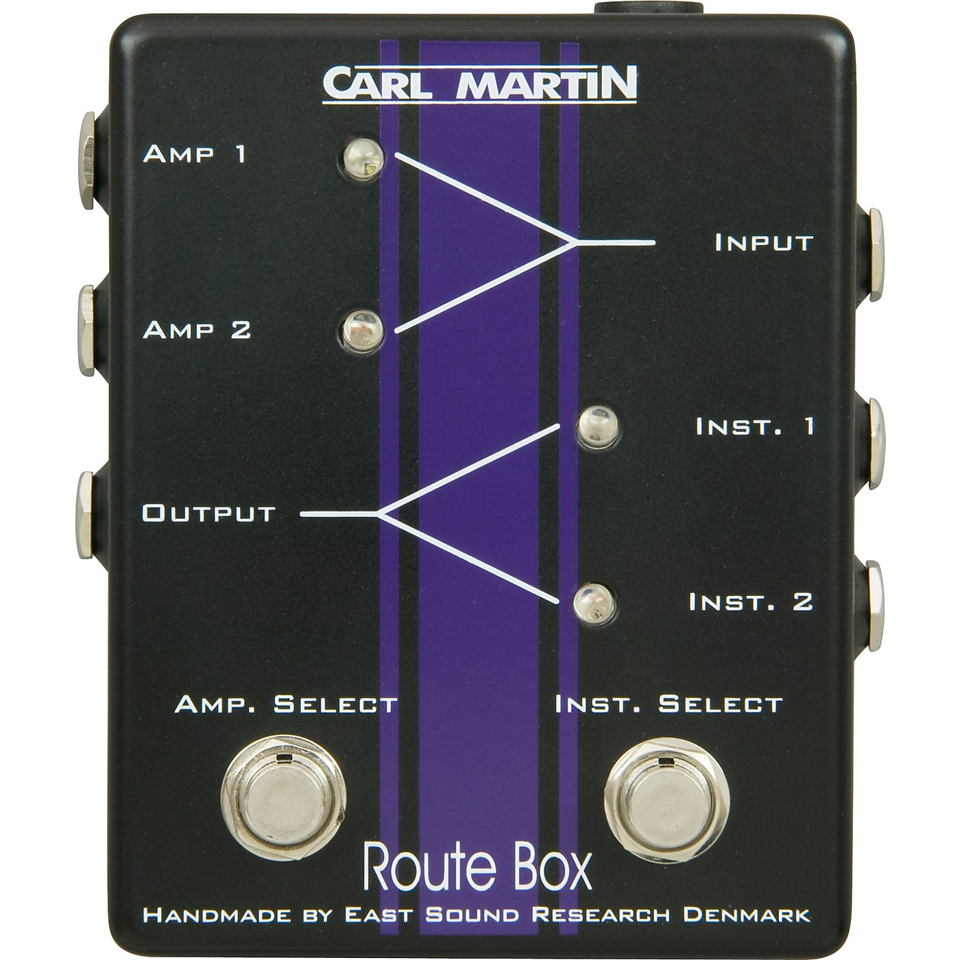 Carl Martin Route Box Double A/B Footswitch thumbnail