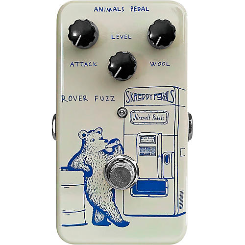 Animals Pedal Rover Fuzz Effects Pedal thumbnail