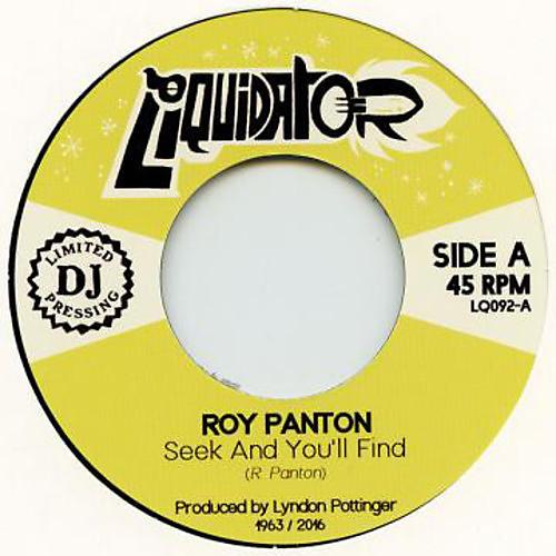 Alliance Roy Panton - Seek & You'Ll Find thumbnail