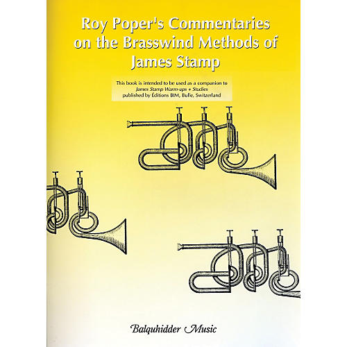 Carl Fischer Roy Poper's Commentaries on the Brasswind Methods of James Stamp Book thumbnail