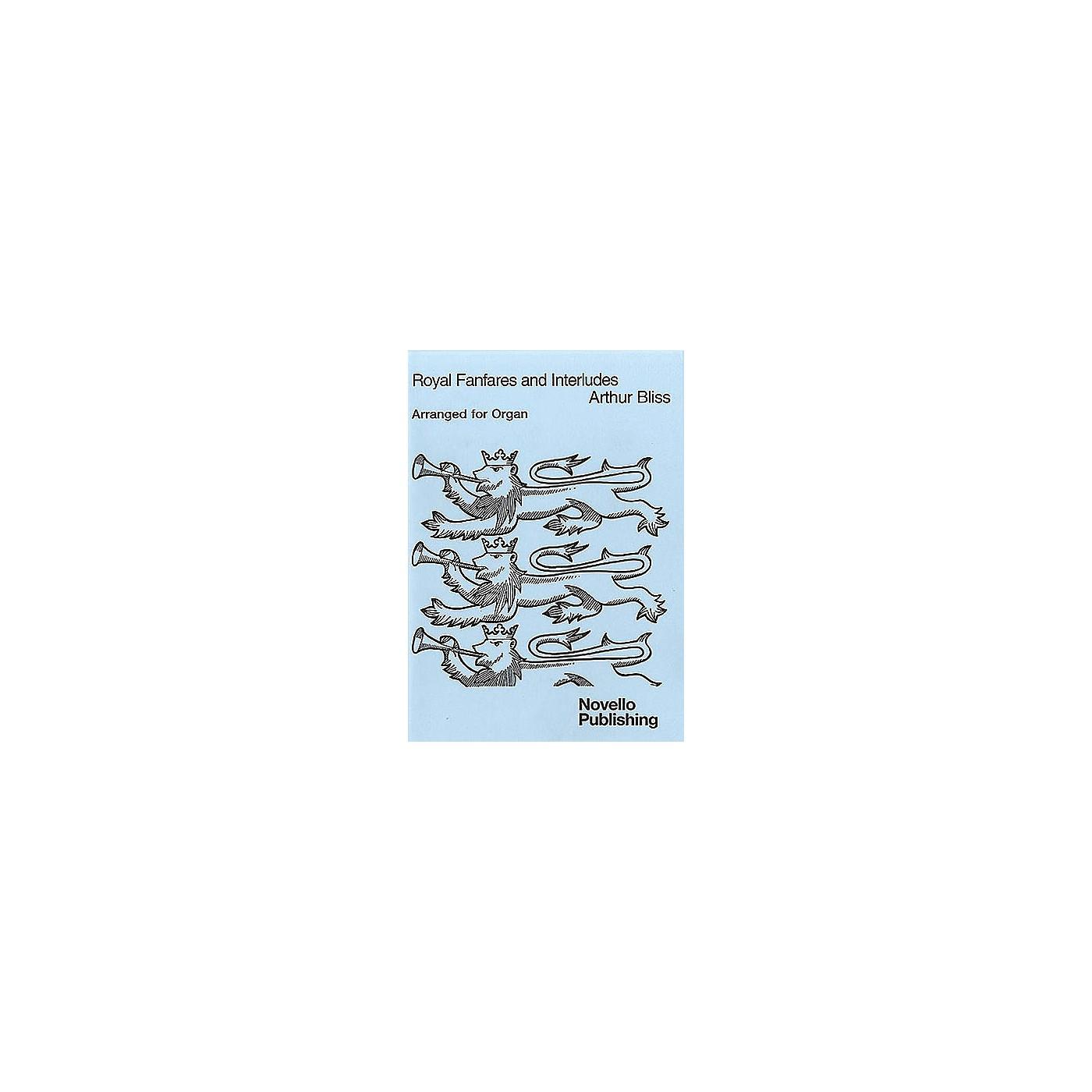 Novello Royal Fanfares and Interludes for Organ Music Sales America Series thumbnail