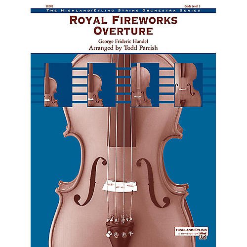 Alfred Royal Fireworks Overture String Orchestra Grade 3 thumbnail